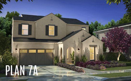 单亲家庭 为 销售 在 Cottonwood At Mckinley Village - Plan 7 3317 Mckinley Village Way Sacramento, California 95816 United States