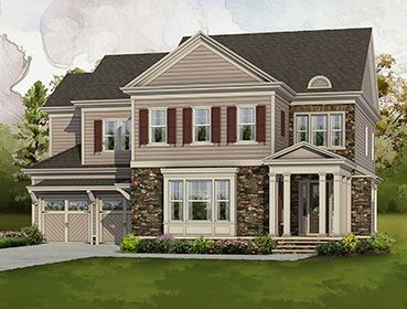 Single Family for Sale at Bellmoore Park - The Compton 10015 Grandview Square Johns Creek, Georgia 30097 United States