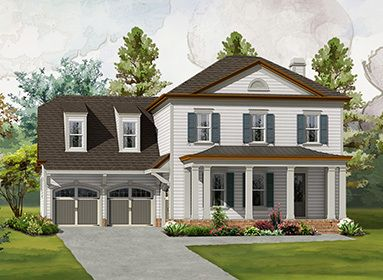 Single Family for Sale at Bellmoore Park - The Danville 10015 Grandview Square Johns Creek, Georgia 30097 United States