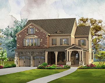 Single Family for Sale at Traditions - The Eastvale 4015 Alistar Park Drive Cumming, Georgia 30040 United States