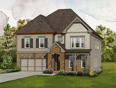 Single Family for Sale at Highpointe At Vinings - The Montgomery 3421 Bryerstone Circle Smyrna, Georgia 30080 United States