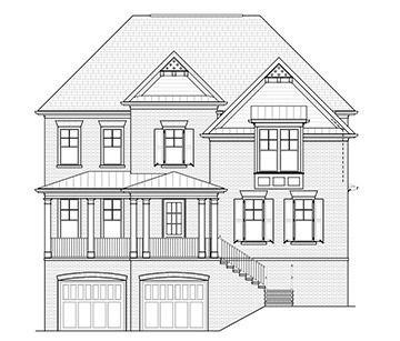 Один семья для того Продажа на Highpointe At Vinings - The Hawthorne 3421 Bryerstone Circle Smyrna, Georgia 30080 United States