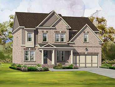 Single Family for Sale at Highpointe At Vinings - The Dover 3421 Bryerstone Circle Smyrna, Georgia 30080 United States