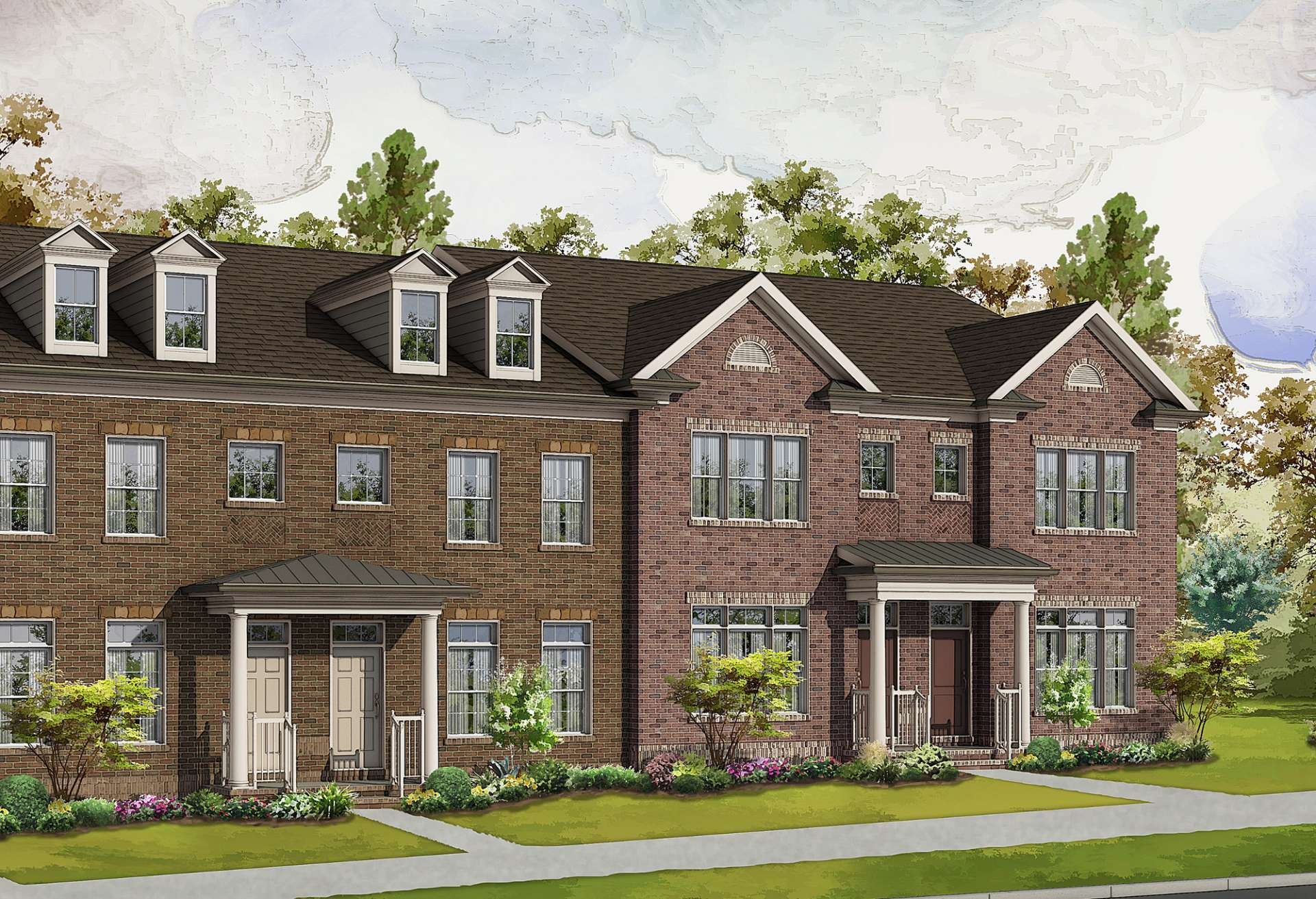 Multi Family for Sale at The Townes At Chastain - The Seymour 4735 Roswell Road Sandy Springs, Georgia 30342 United States