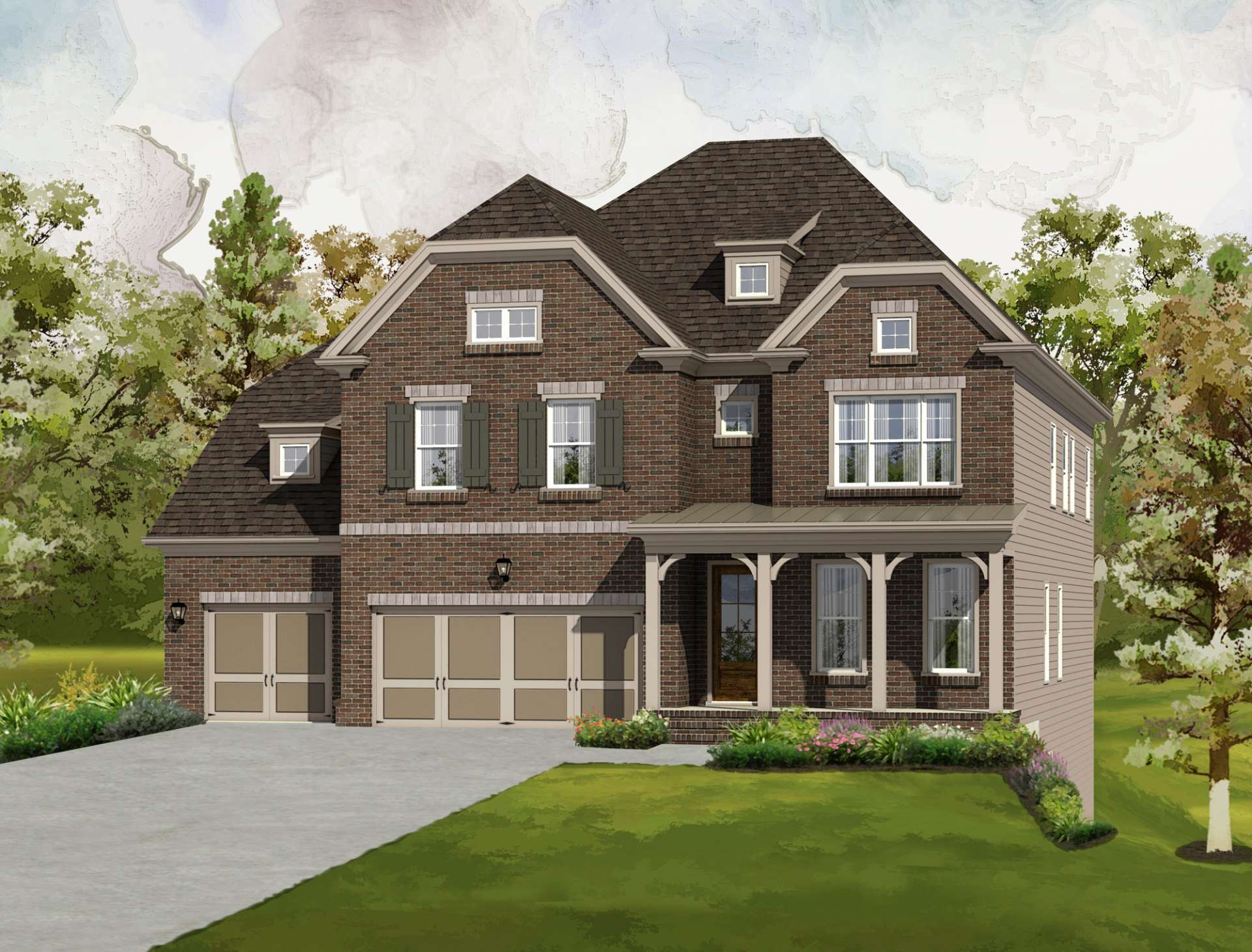 Single Family for Sale at Traditions - The Matthews 4015 Alister Park Drive Cumming, Georgia 30040 United States