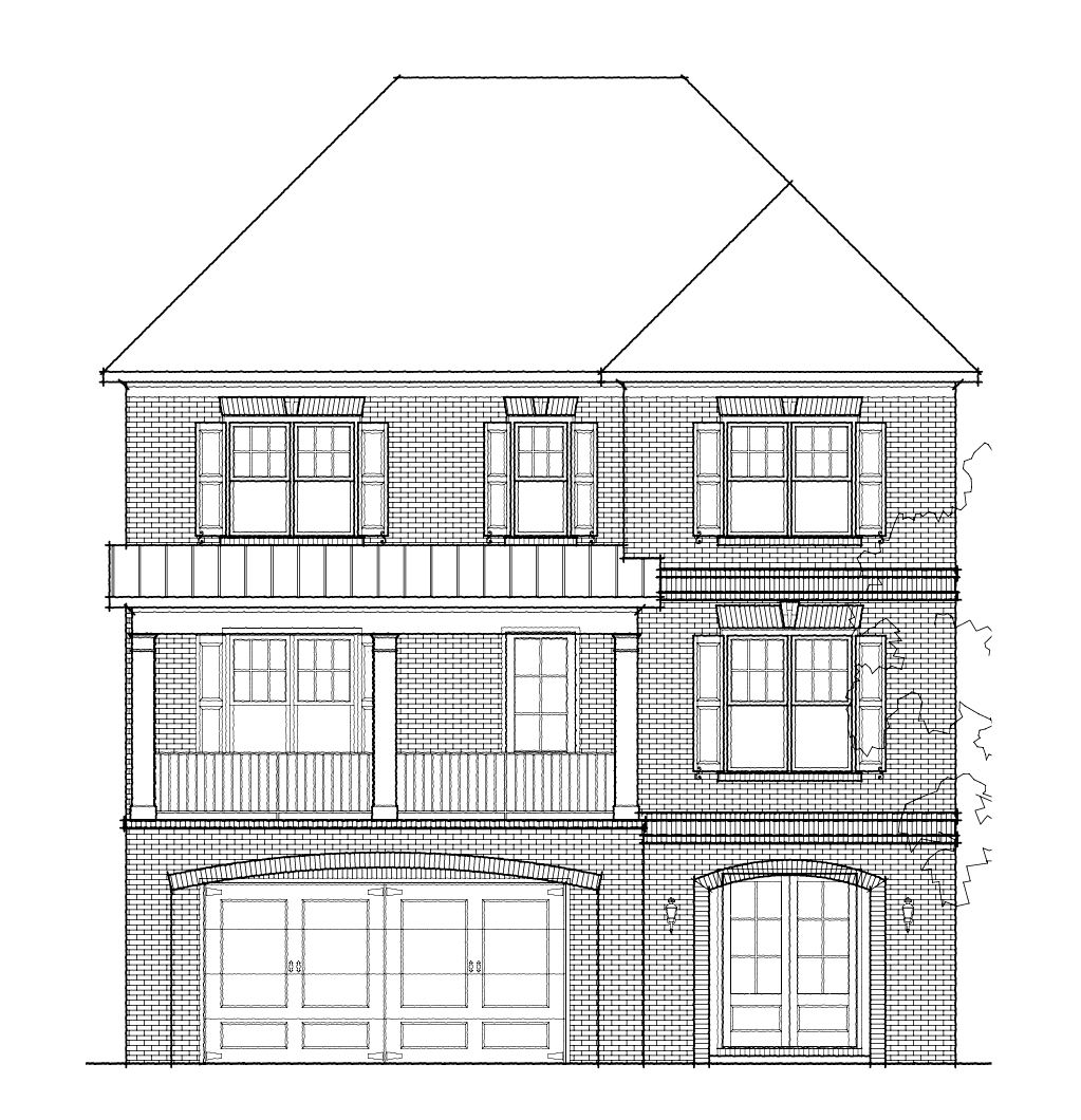 Single Family for Active at Highpointe At Vinings - The Glenwood 3421 Bryerstone Circle Smyrna, Georgia 30080 United States