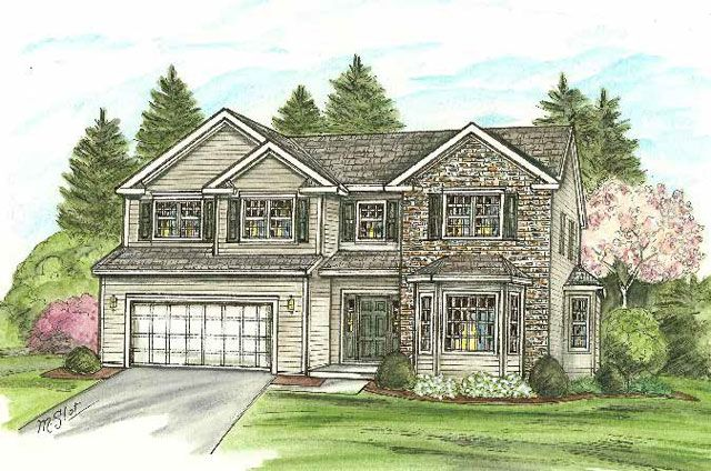 Single Family for Active at Brookview Heights - The Sterling 17 Buff Road Saratoga Springs, New York 12866 United States
