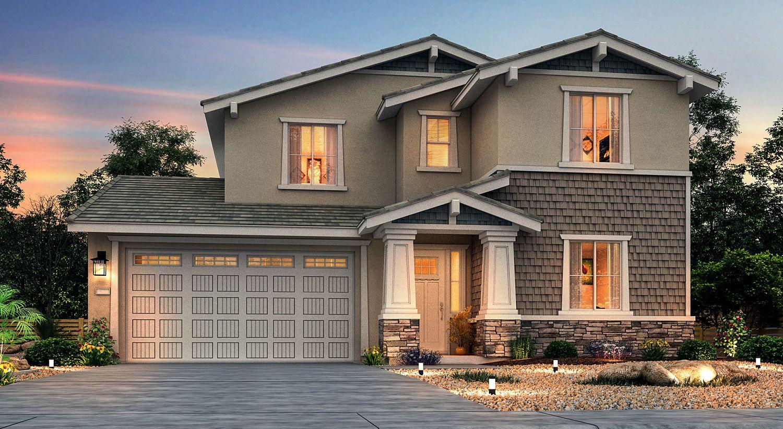 Single Family for Sale at Creekside - Sunflower 5017 Brightside Lane Roseville, California 95661 United States