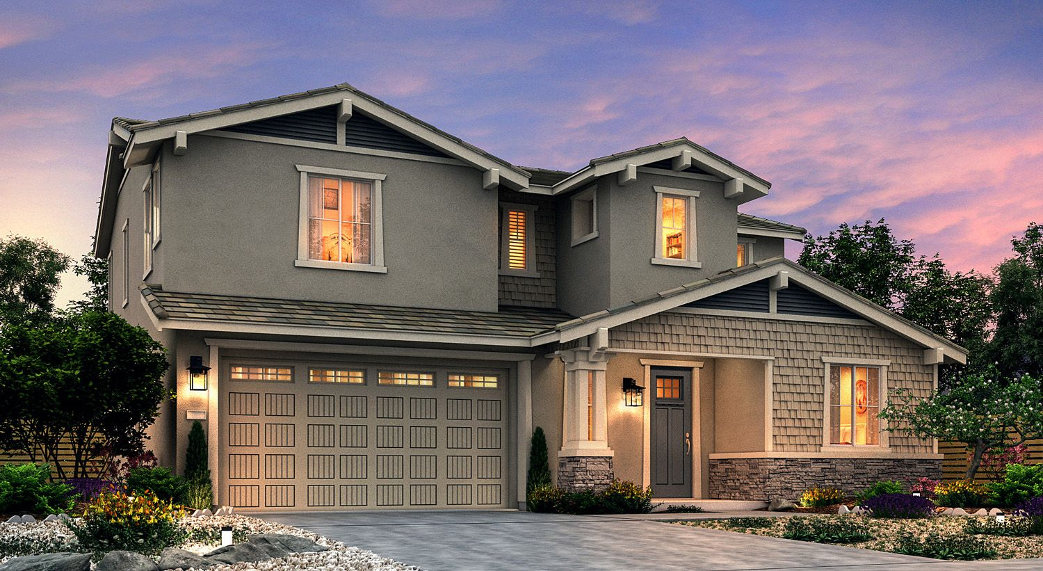 Single Family for Active at Creekside - Waterlily 5017 Brightside Lane Roseville, California 95661 United States