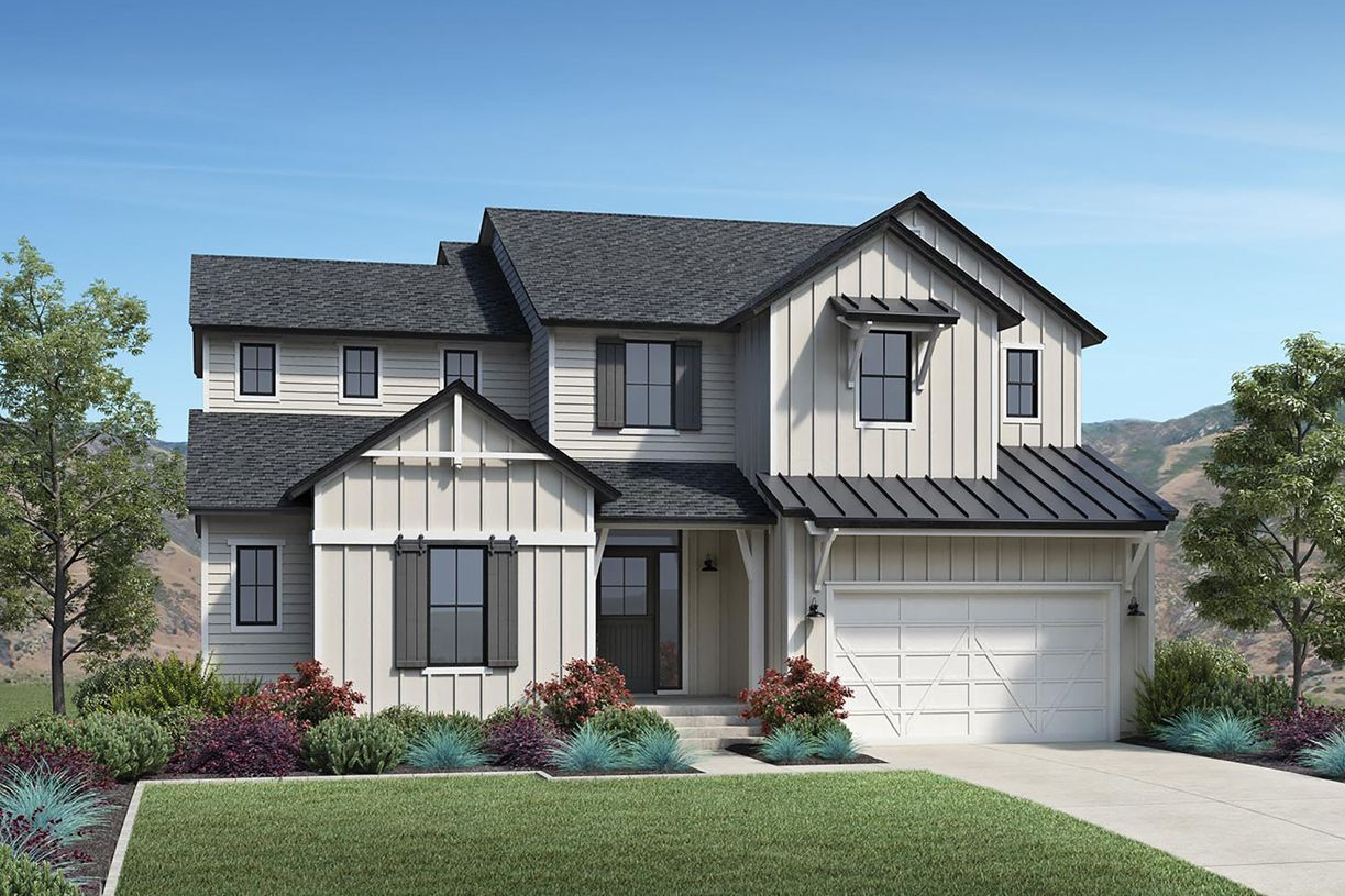 Single Family for Active at Toll Brothers At Edelweiss - Porter 14666 South Silver Blossom Way Draper, Utah 84020 United States