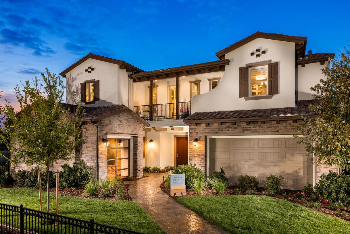 单亲家庭 为 销售 在 Brescia (St) Andalusian 3236 Fabriano El Dorado Hills, California 95762 United States