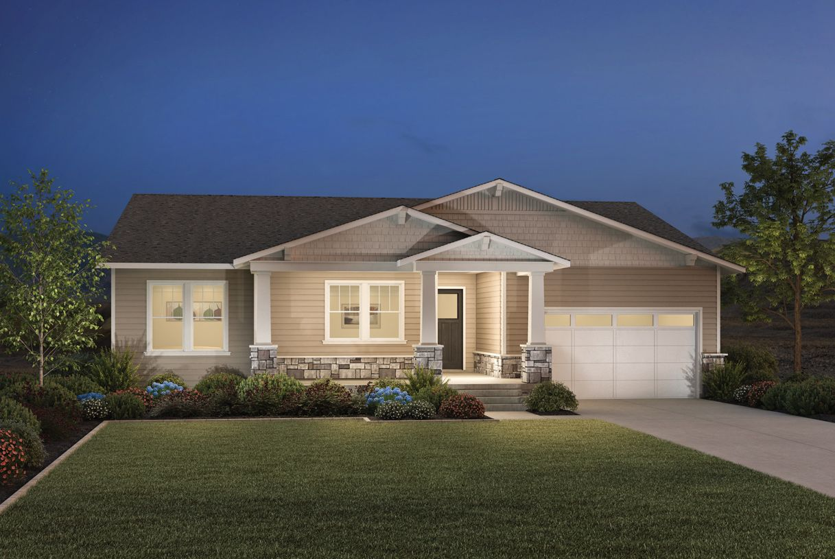Single Family for Active at Toll Brothers At Edelweiss - Asher 14666 South Silver Blossom Way Draper, Utah 84020 United States