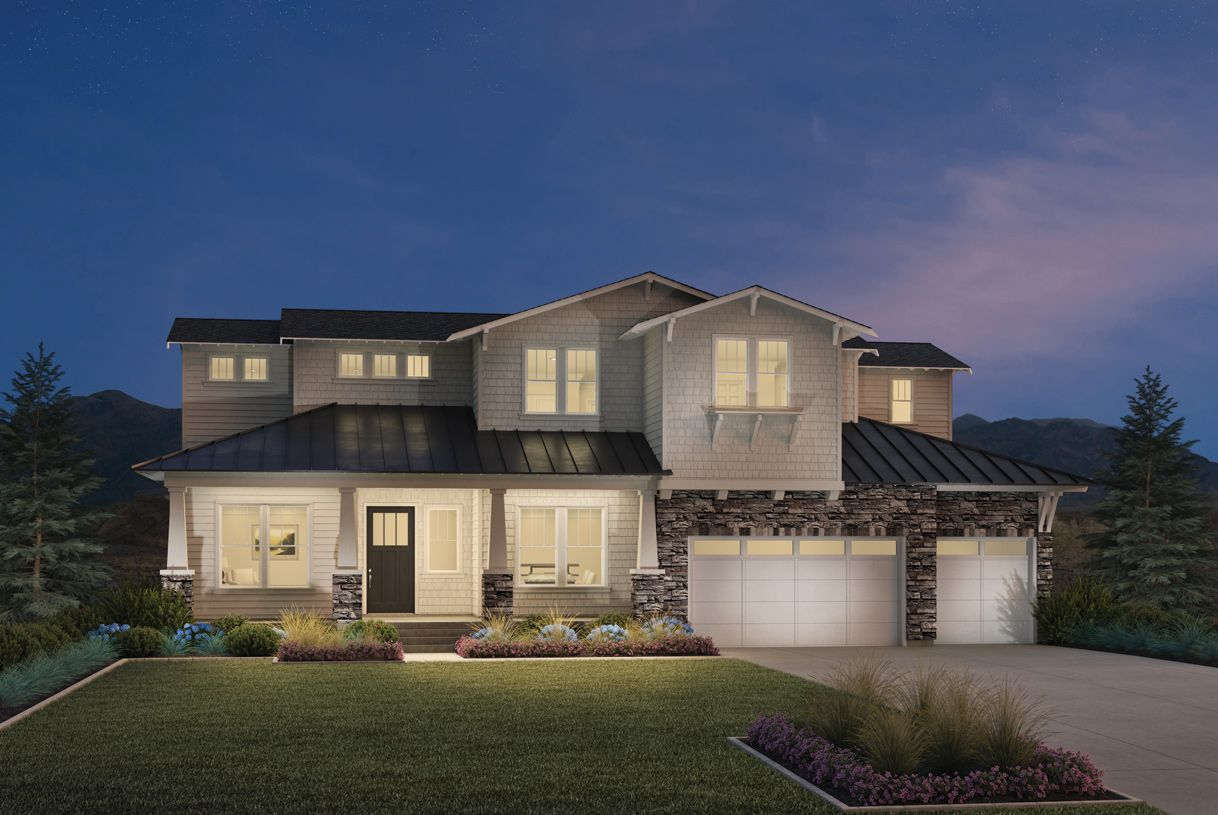 Single Family for Active at Canyon Point At Traverse Mountain - The Summit Collection - Friberg 1867 West Oakridge Drive Lehi, Utah 84043 United States
