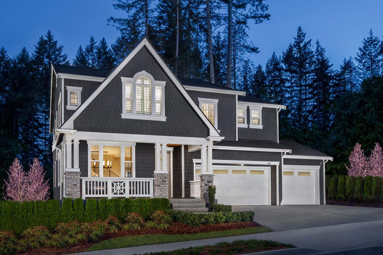 Single Family for Active at Toll Brothers At Scouters Mountain - Trillium With Basement 11398 Se Cheerful Way Happy Valley, Oregon 97086 United States