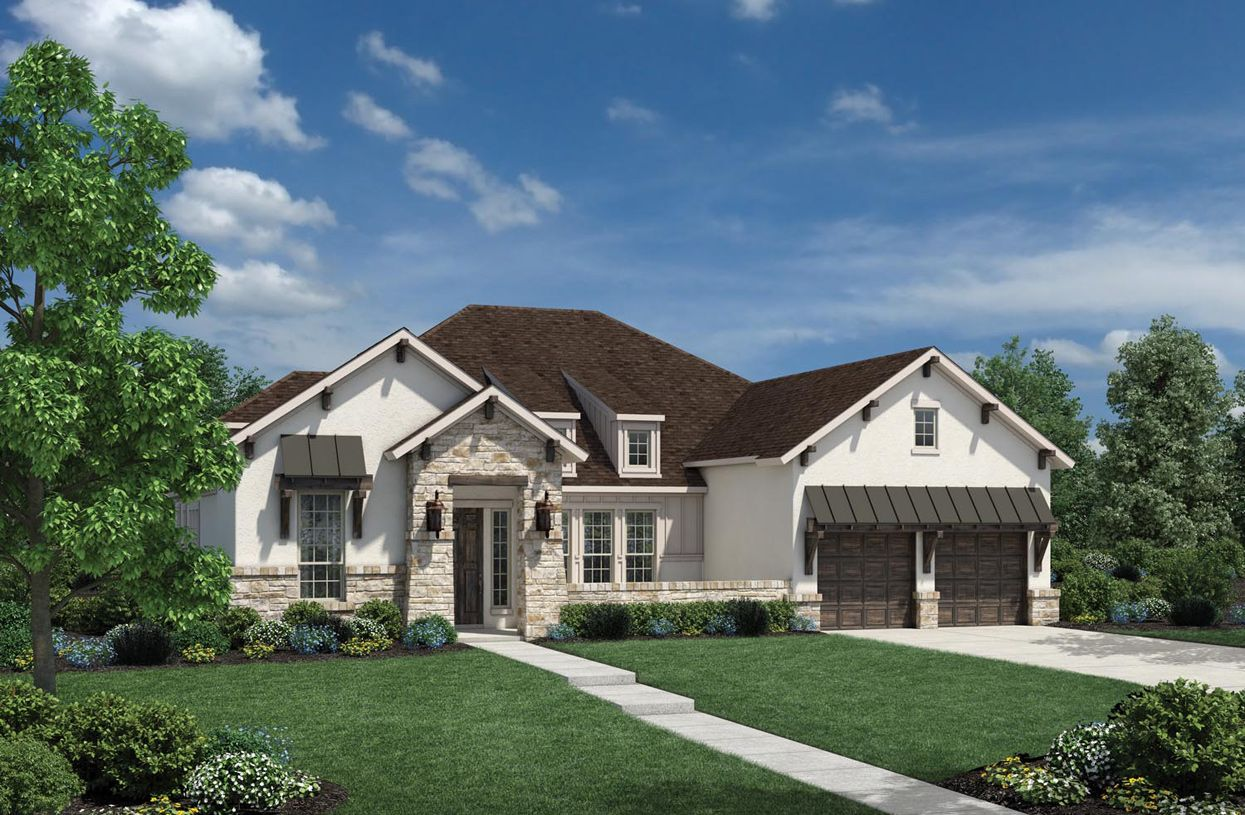 Single Family for Sale at Travisso - Naples Collection - Mirabel 3929 Veneto Circle Leander, Texas 78641 United States