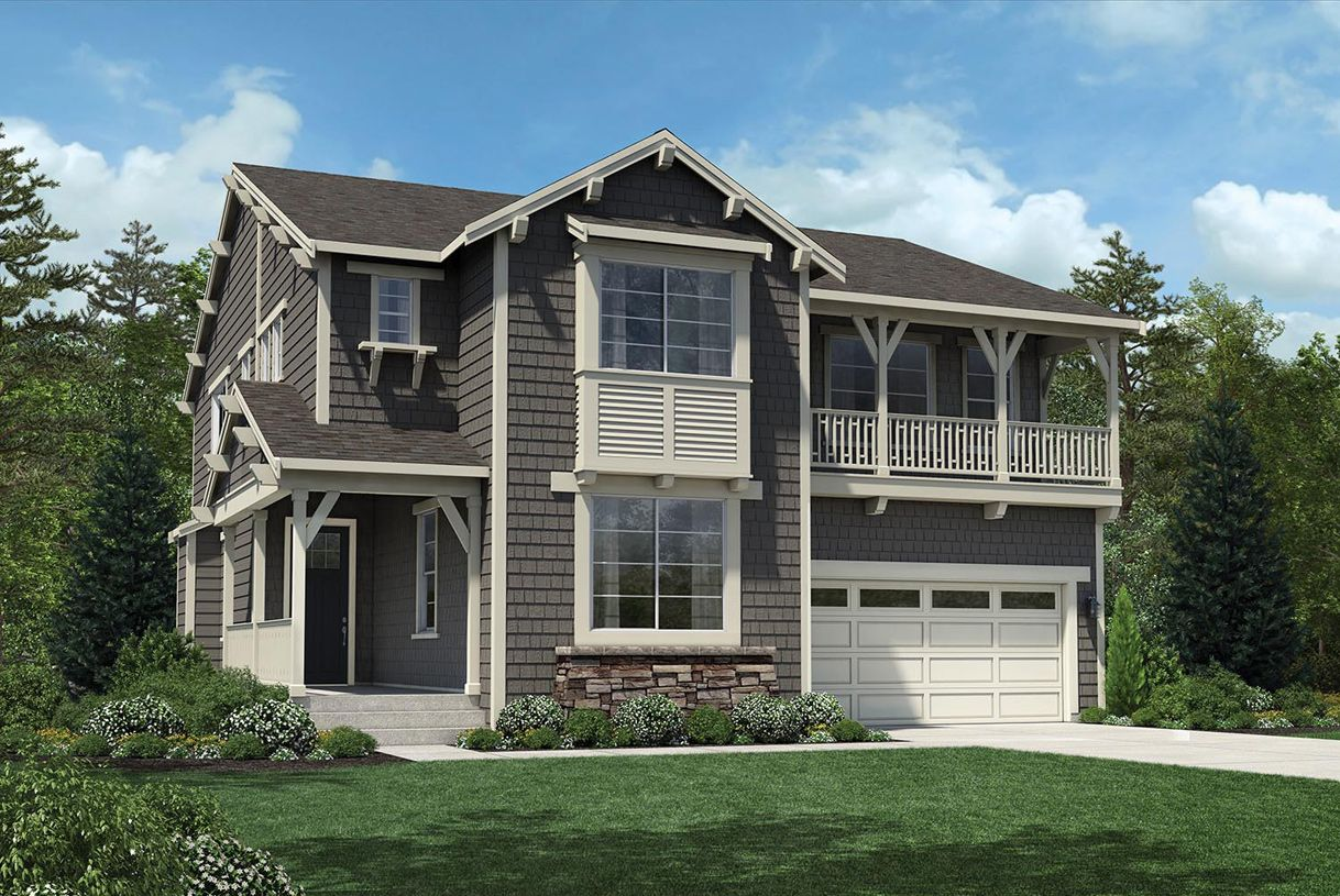 Single Family for Sale at Woodhaven - Ballard With Basement 24200 Ne 14th Street Sammamish, Washington 98074 United States