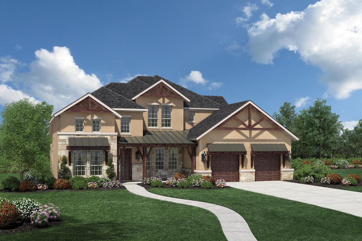 Single Family for Sale at Travisso - Naples Collection - Adalyn 4133 Florentine Road Leander, Texas 78641 United States