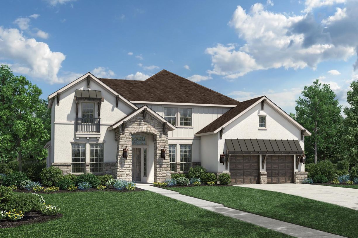 Single Family for Sale at Maltese 2221 Fossetta View Leander, Texas 78641 United States