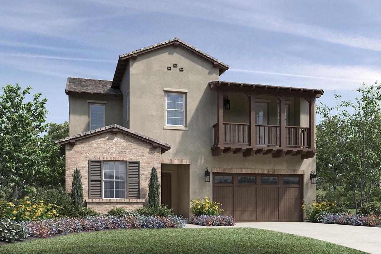 单亲家庭 为 销售 在 The Knolls At Tassajara Hills - Canterbury 7383 Colton Hills Drive Dublin, California 94568 United States