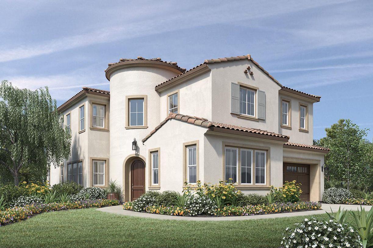单亲家庭 为 销售 在 The Knolls At Tassajara Hills - Sherwood 7383 Colton Hills Drive Dublin, California 94568 United States
