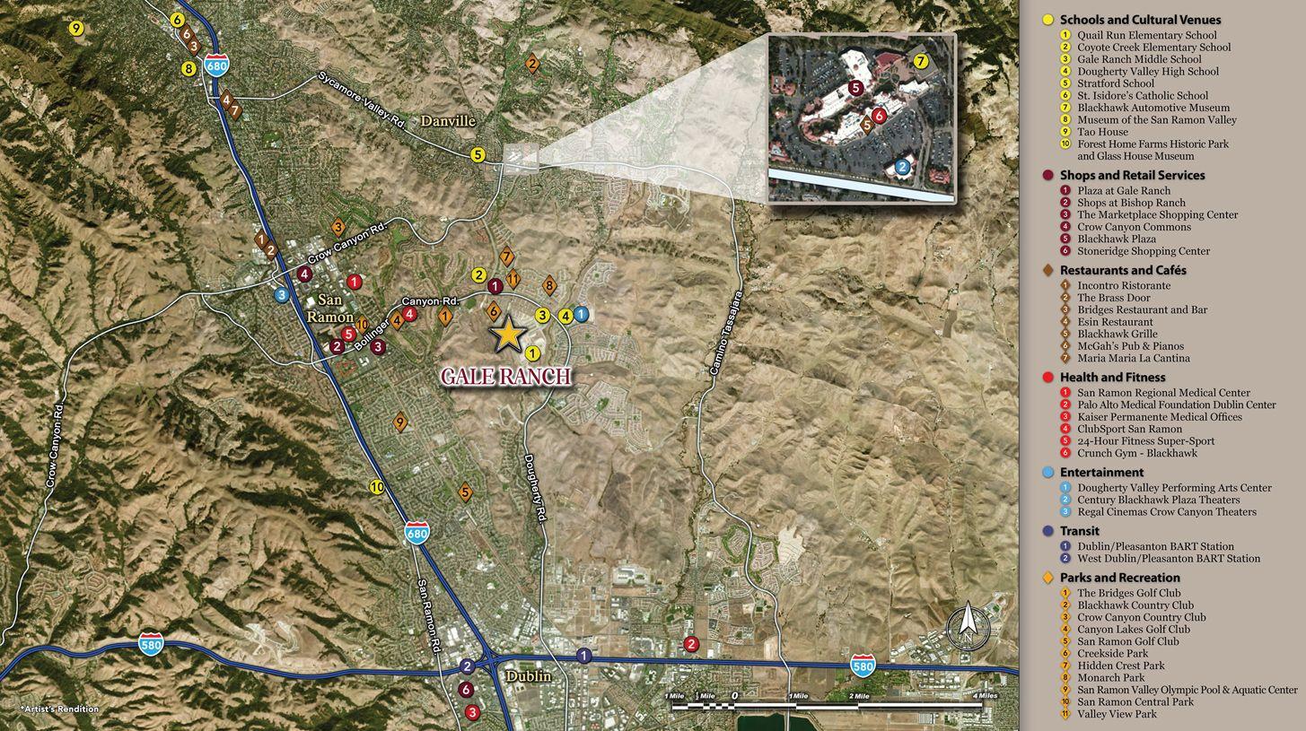 单亲家庭 为 销售 在 Desana 321 Arrow Leaf Street San Ramon, California 94582 United States