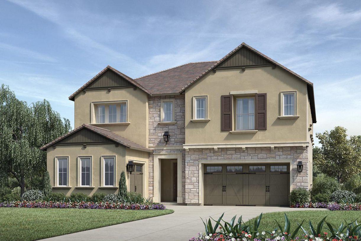 单亲家庭 为 销售 在 The Bluffs At Tassajara Hills - Oakhurst 7383 Colton Hills Drive Dublin, California 94568 United States