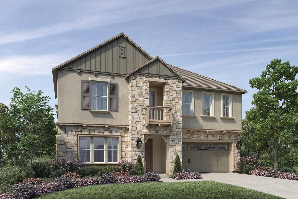 单亲家庭 为 销售 在 The Bluffs At Tassajara Hills - Castleberry 7383 Colton Hills Drive Dublin, California 94568 United States