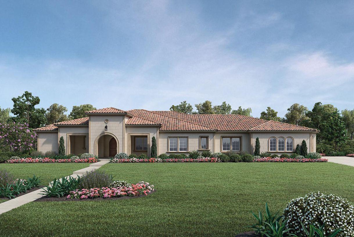 单亲家庭 为 销售 在 Borello Ranch Estates - Colline 18620 Corte Bautista Morgan Hill, California 95037 United States