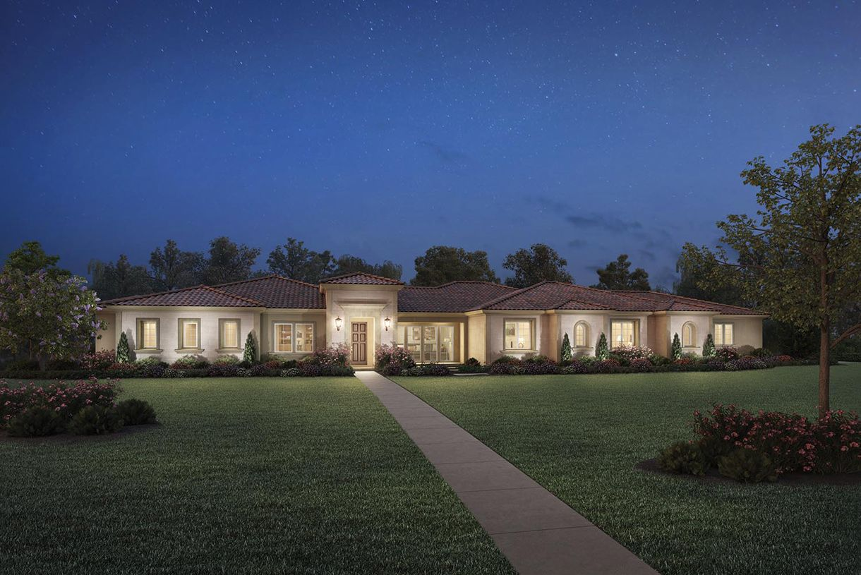 单亲家庭 为 销售 在 Borello Ranch Estates - Karissa 18620 Corte Bautista Morgan Hill, California 95037 United States