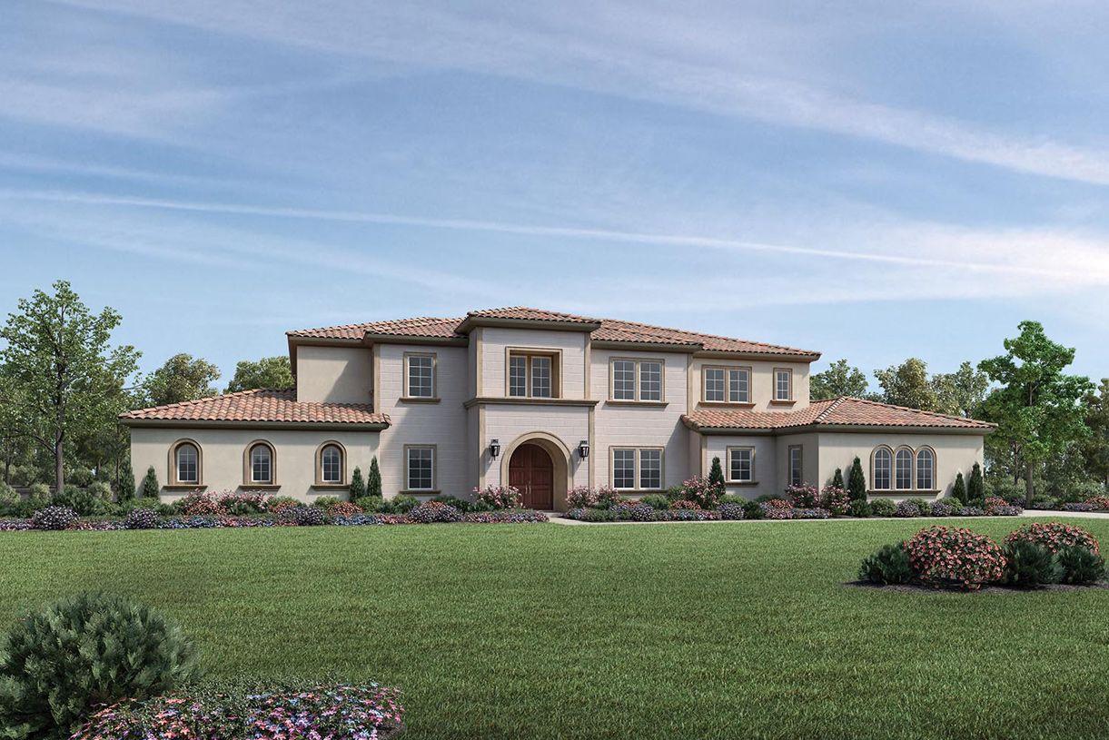单亲家庭 为 销售 在 Borello Ranch Estates - Tesoro 18620 Corte Bautista Morgan Hill, California 95037 United States