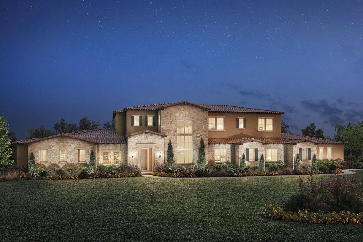 单亲家庭 为 销售 在 Borello Ranch Estates - Vigneti 18620 Corte Bautista Morgan Hill, California 95037 United States