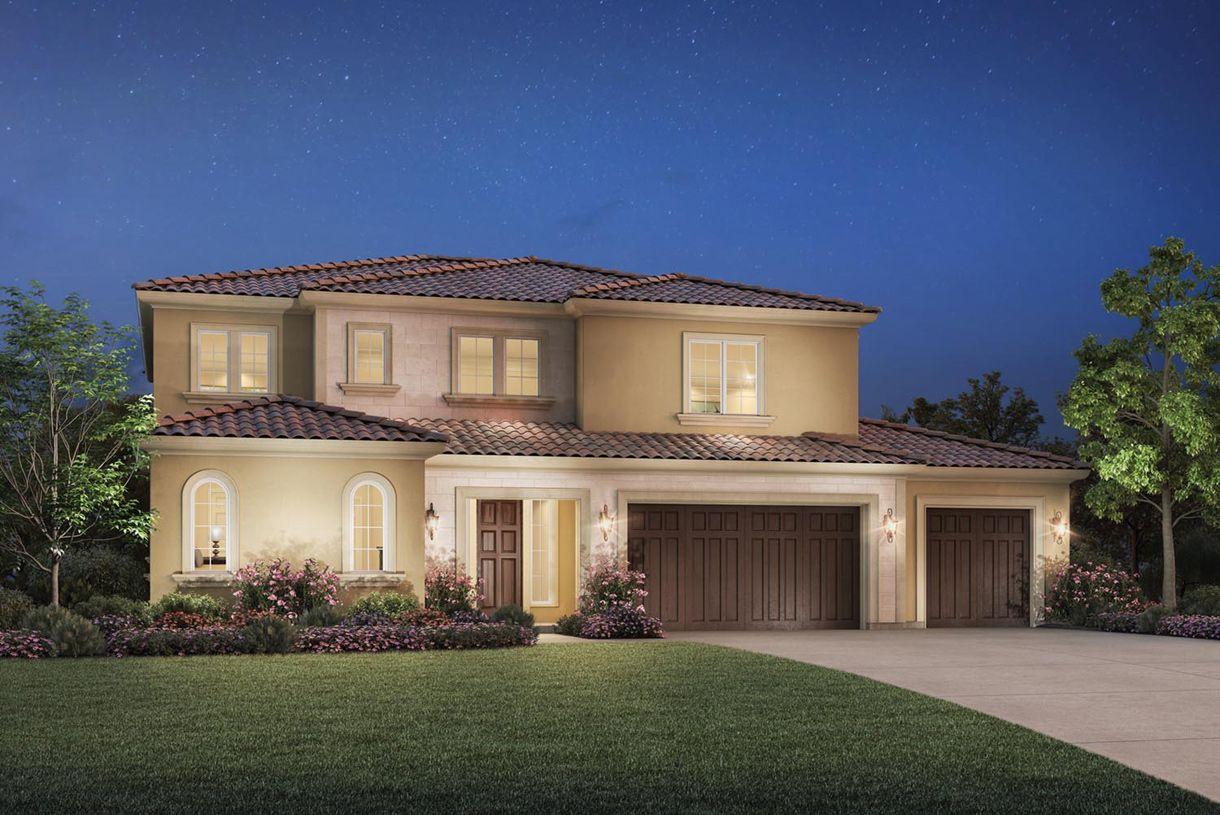 单亲家庭 为 销售 在 Borello Ranch Estates - Alegra 18620 Corte Bautista Morgan Hill, California 95037 United States