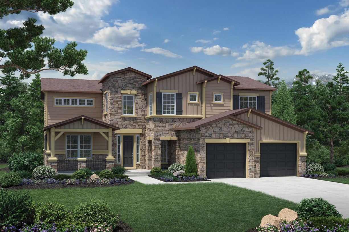 Single Family for Sale at The Highlands At Parker - Bella 11675 Pine Canyon Point Parker, Colorado 80138 United States