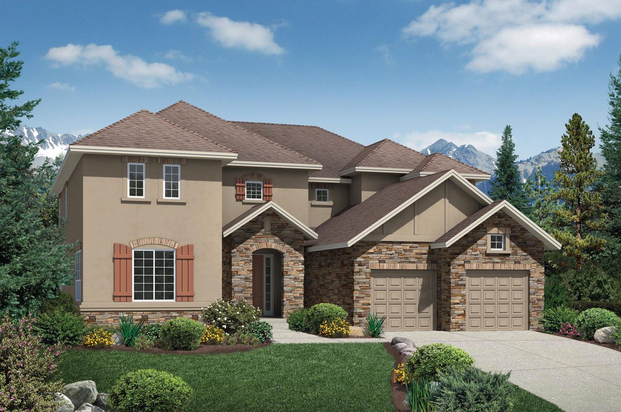 Single Family for Sale at The Highlands At Parker - Volare 11675 Pine Canyon Point Parker, Colorado 80138 United States