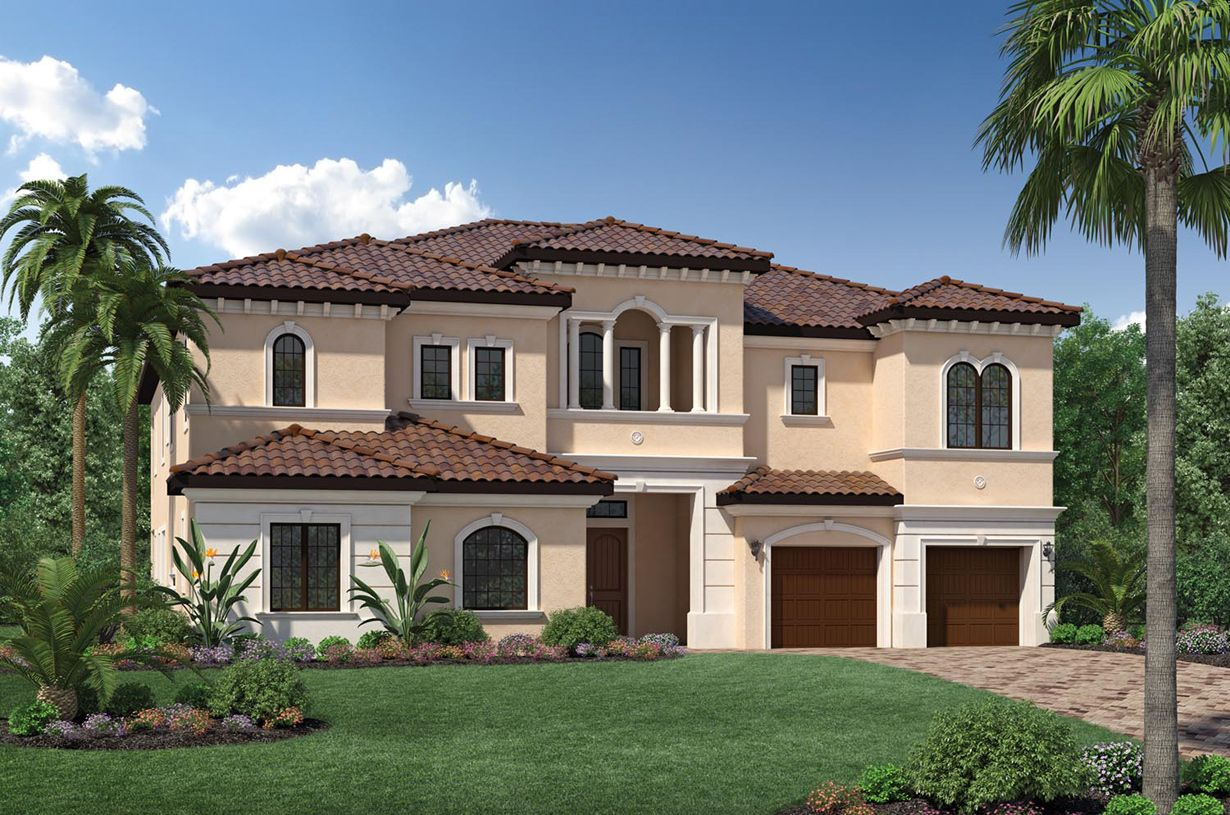 Single Family for Sale at Parkland Golf And Country Club By Toll Brothers - Heritage C - Cosenza 9425 Old Club Road Parkland, Florida 33076 United States