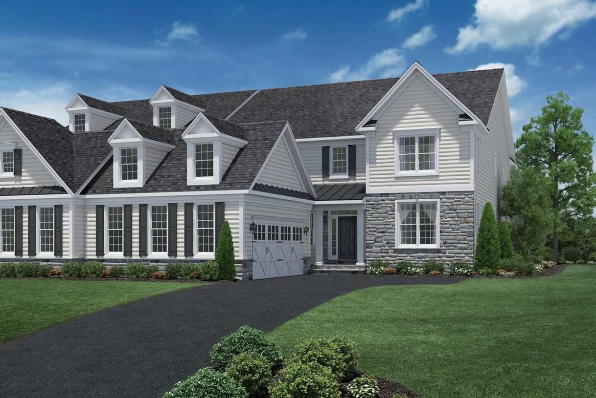 Newtown square new homes new construction home for Newtown builders