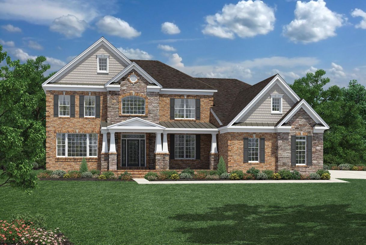 Single Family for Active at The Woods Of South Barrington - Estate Collection - Harding 2 Acadia Drive South Barrington, Illinois 60010 United States