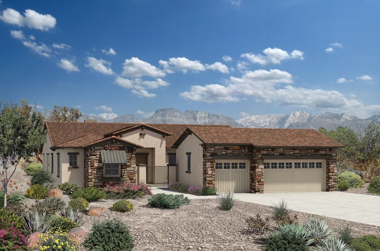 Single Family for Sale at Reserve At Tranquil Trail - Montierra 37250 Nw Greythorn Circle Carefree, Arizona 85377 United States
