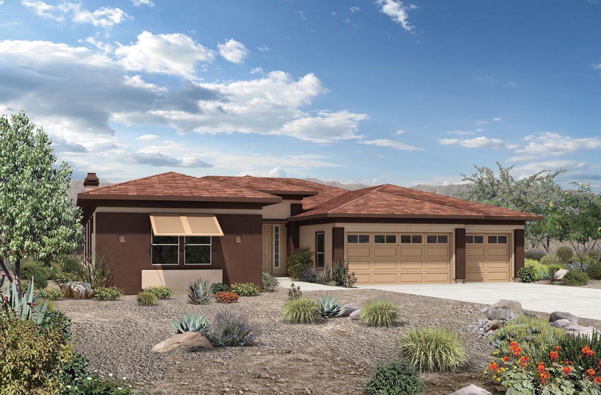 Unique la famille pour l Vente à Treviso - Monteloma 10798 E. Via Cortana Road Scottsdale, Arizona 85262 United States