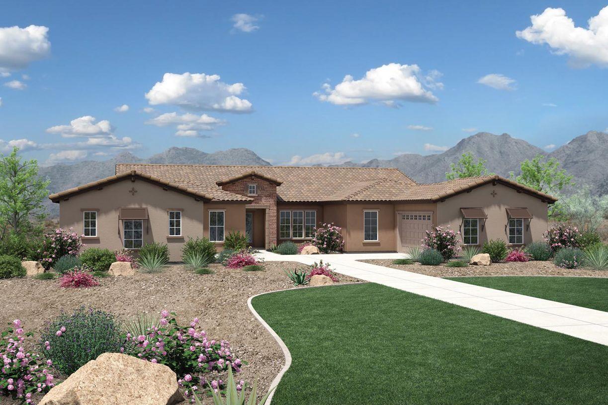 Single Family for Active at Dorada Estates - Aurora 17673 East Bronco Drive Queen Creek, Arizona 85142 United States