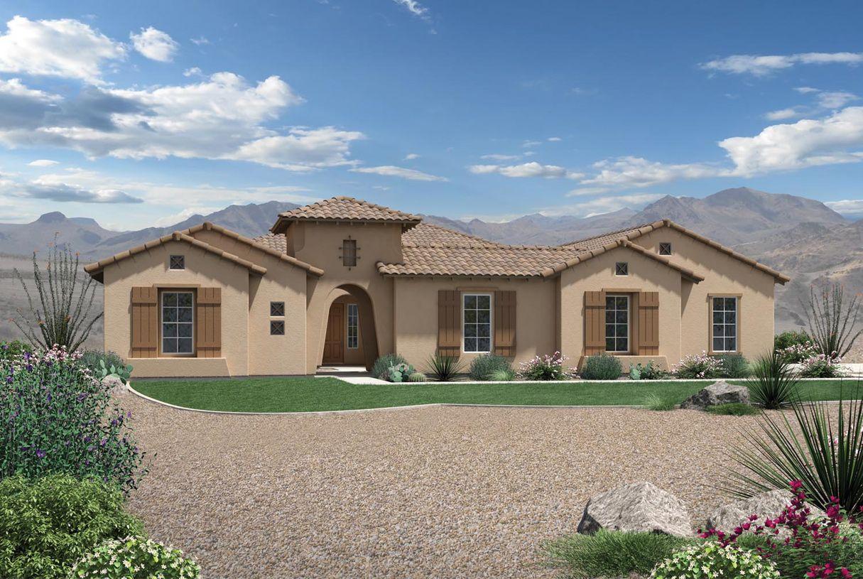 Single Family for Active at Dorada Estates - Aracena 17673 East Bronco Drive Queen Creek, Arizona 85142 United States