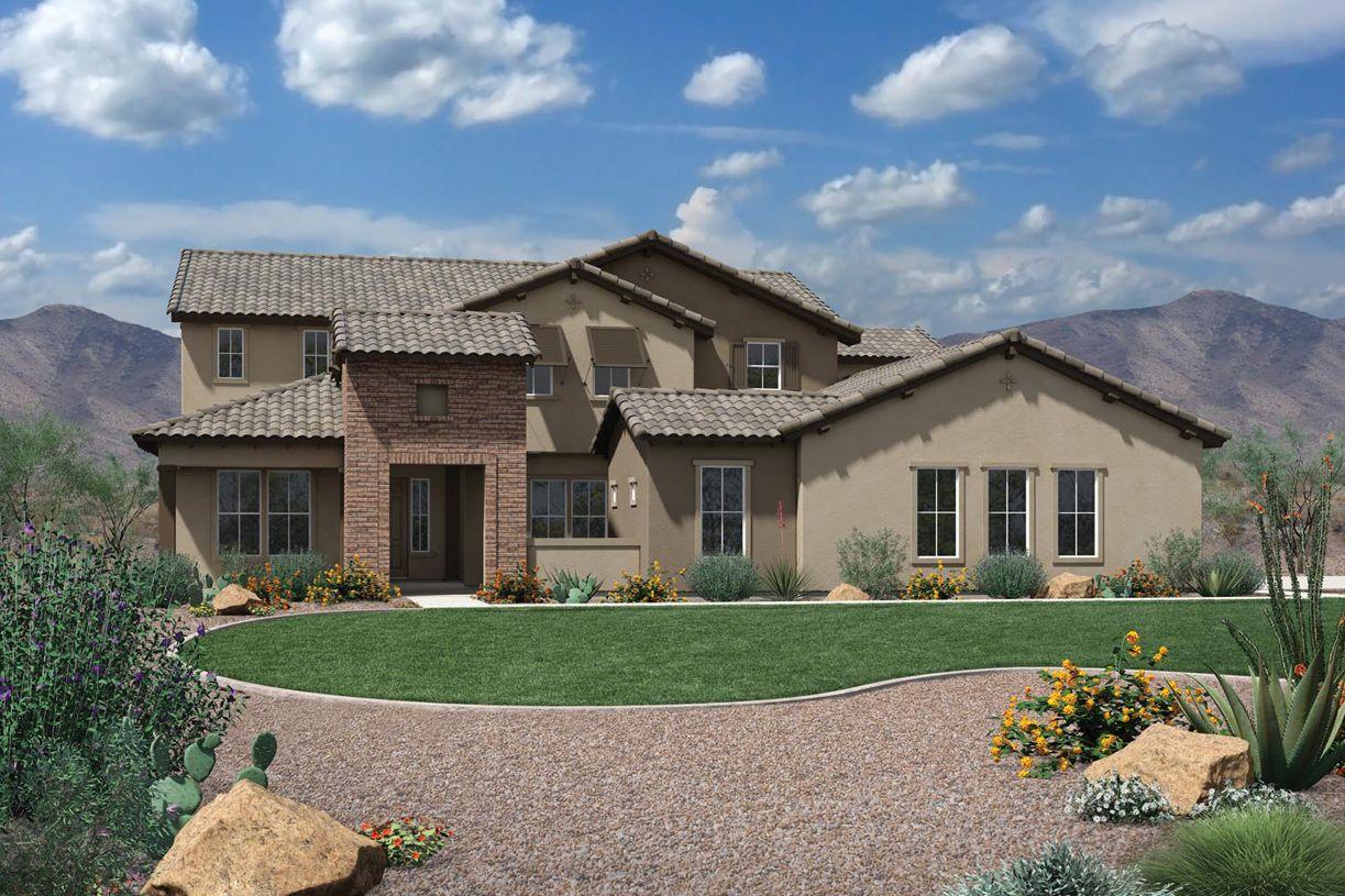 Single Family for Active at Dorada Estates - Verandah 17673 East Bronco Drive Queen Creek, Arizona 85142 United States