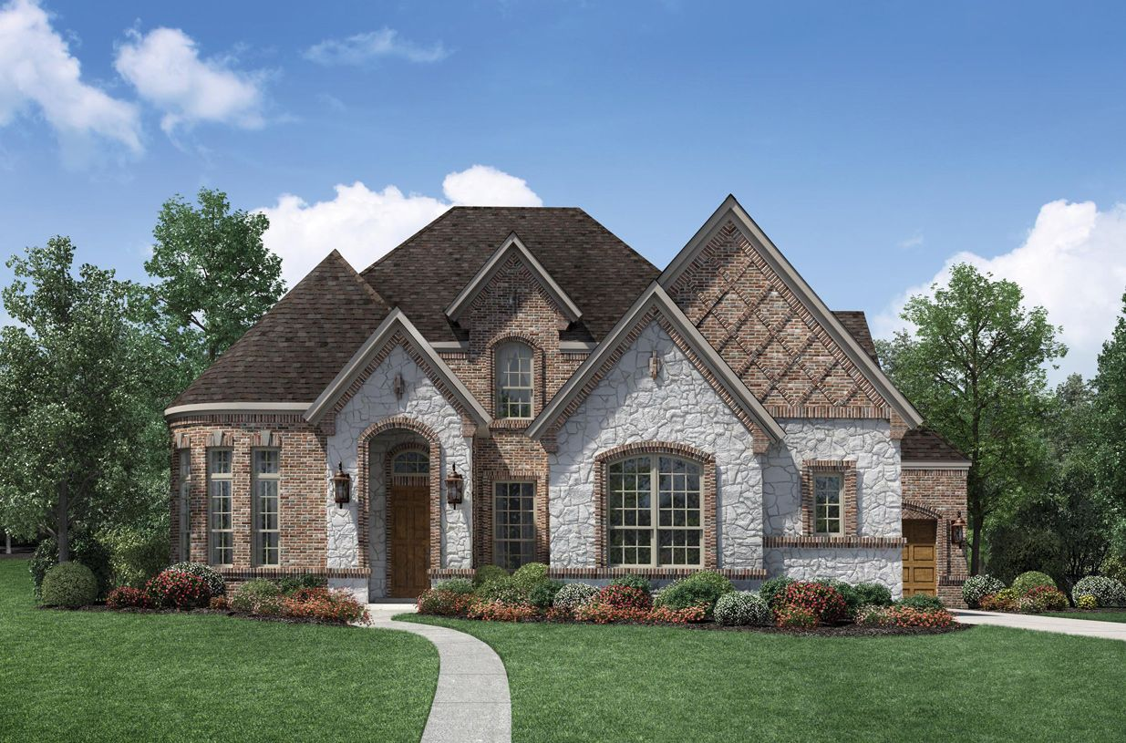 Single Family for Sale at Terracina At Flower Mound - Stanton 6637 Via Italia Drive Flower Mound, Texas 75077 United States