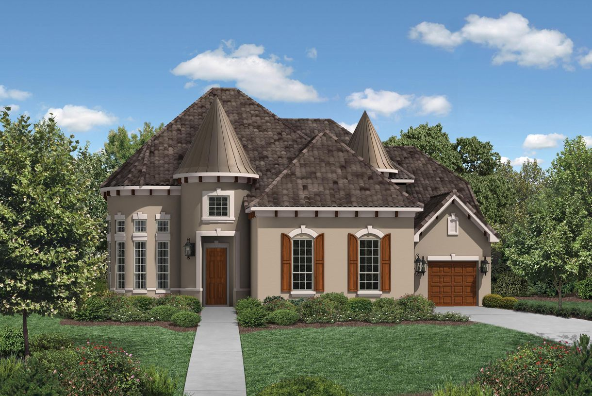 Toll brothers phillips creek ranch the executives at for New modern homes in frisco tx
