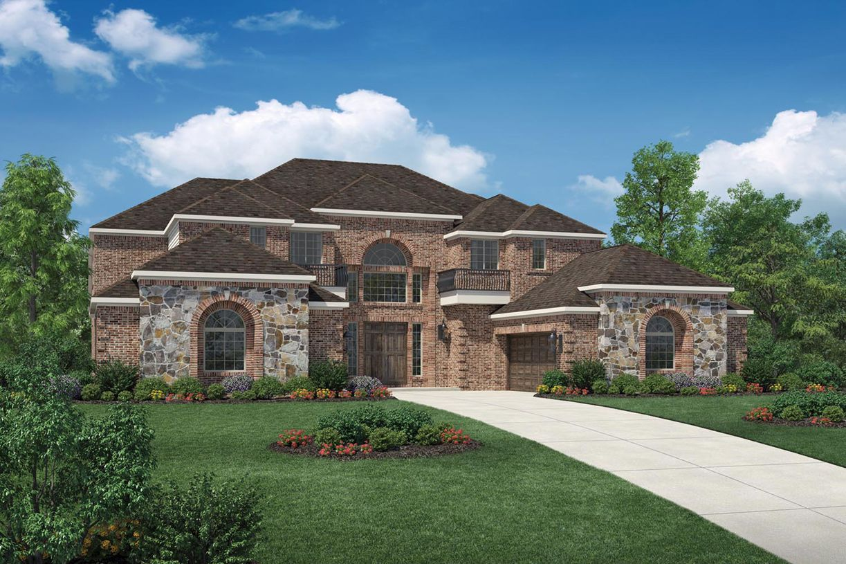 Single Family for Sale at The Overlook At Colleyville - Montelena 605 Forest Meadow Drive Colleyville, Texas 76034 United States