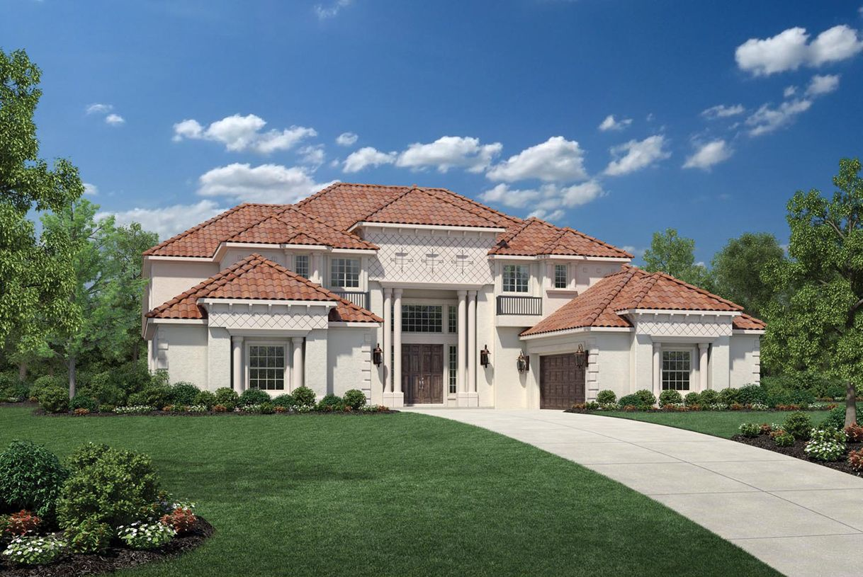 Single Family for Active at Parkside At Fairview - Montelena 1700 Big Bend Blvd. Fairview, Texas 75069 United States