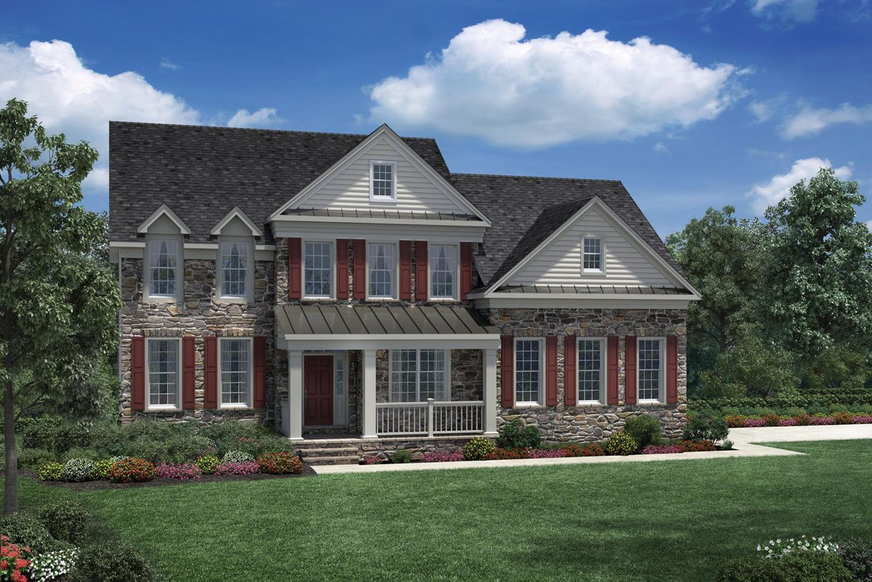 Single Family for Active at Estates At Bamm Hollow - Columbia Ii 6 Strathmore Road Lincroft, New Jersey 07738 United States