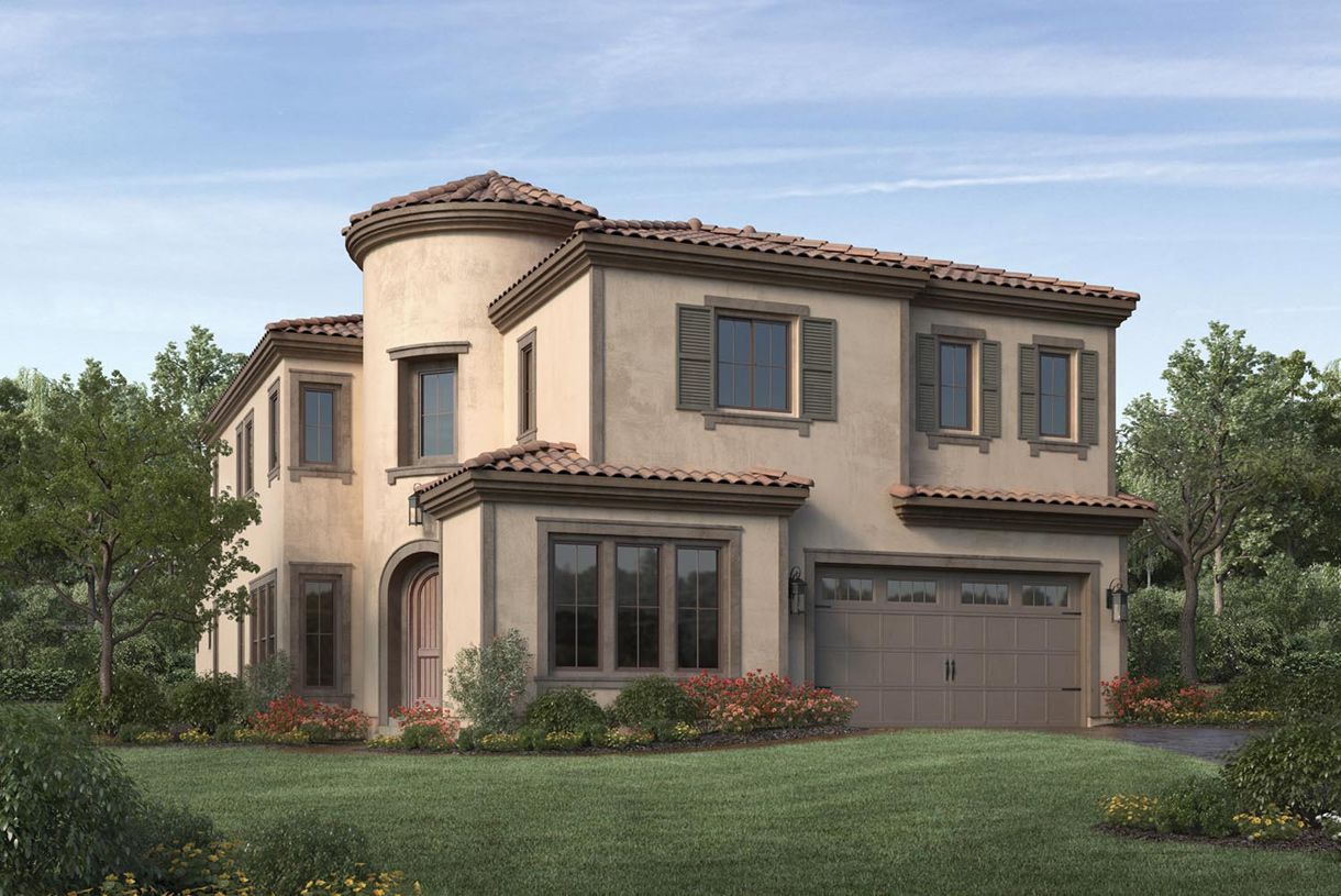 Single Family for Sale at Bella Vista At Porter Ranch - Bluffs Collection - Saratoga 12043 Ricasoli Way Porter Ranch, California 91326 United States