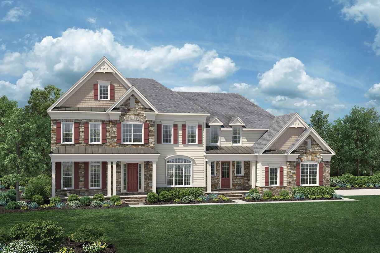 Single Family for Sale at Estates At Mill Creek Ridge - Weatherstone 874 Green Meadow Drive Furlong, Pennsylvania 18925 United States