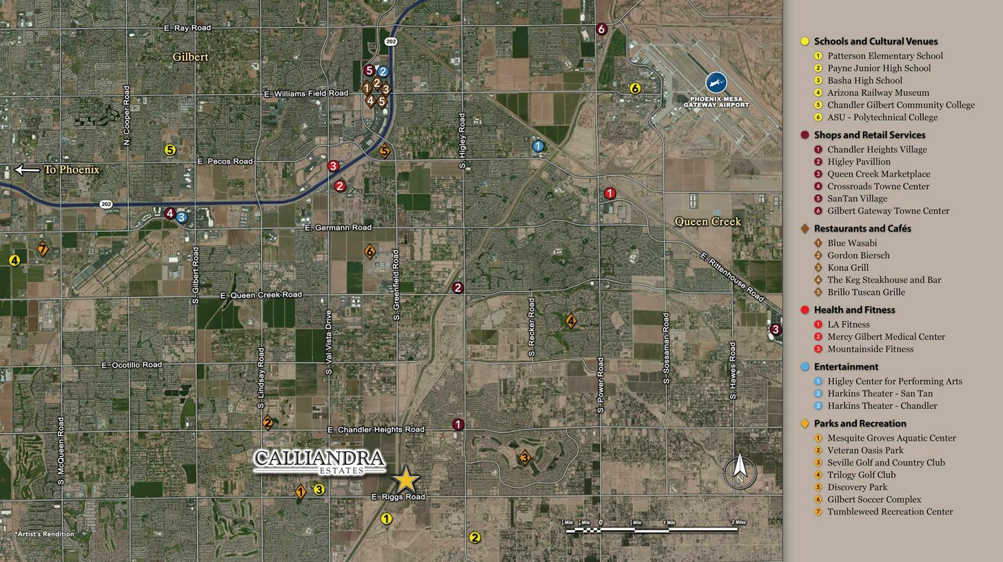 Single Family for Sale at Montierra 2497 E. Haymore St. Gilbert, Arizona 85298 United States